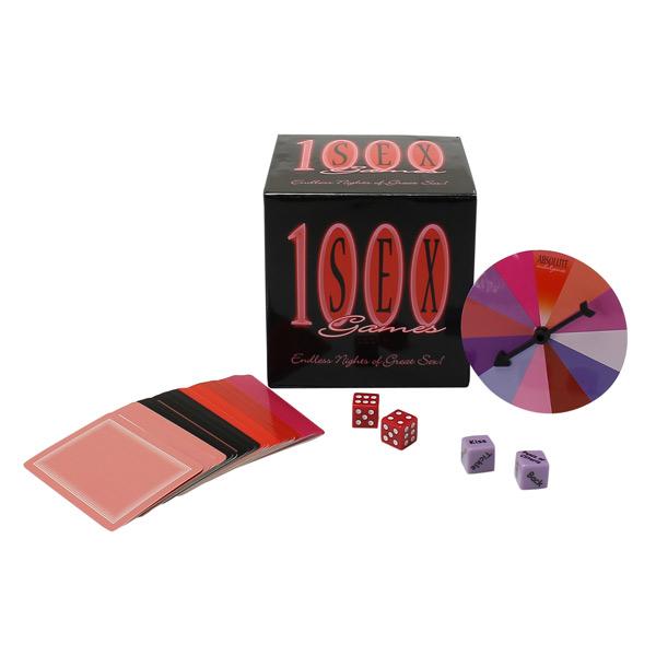 Image of 1000 Sex Games Spil på Engelsk