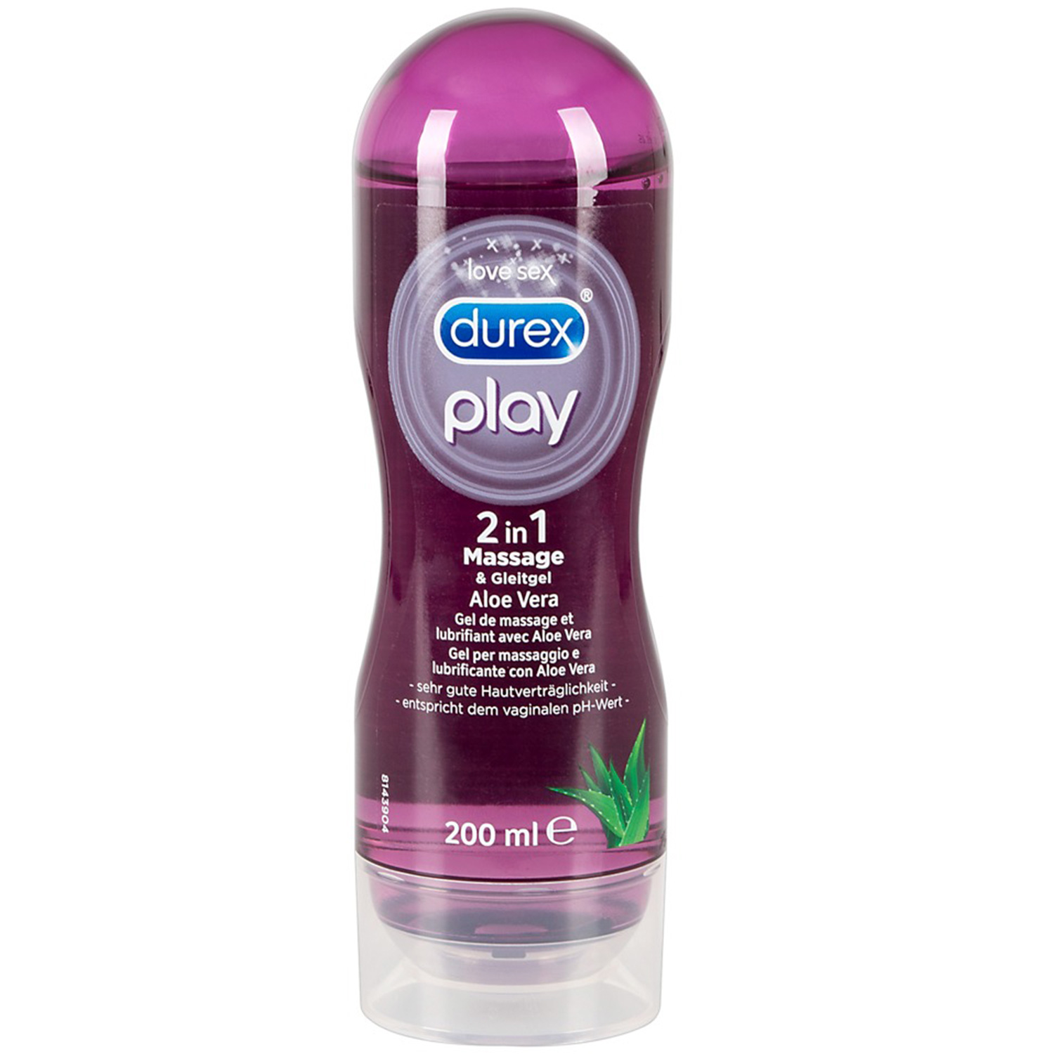 Durex Play 2-i-1 Massageolie og Glidecreme 200 ml