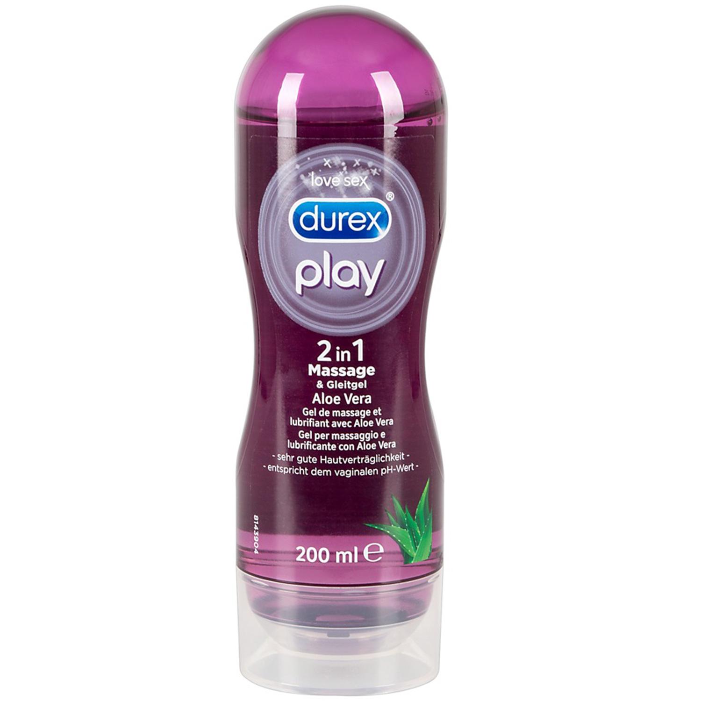Durex Play 2-i-1 Massageolie og Glidecreme 200 ml thumbnail