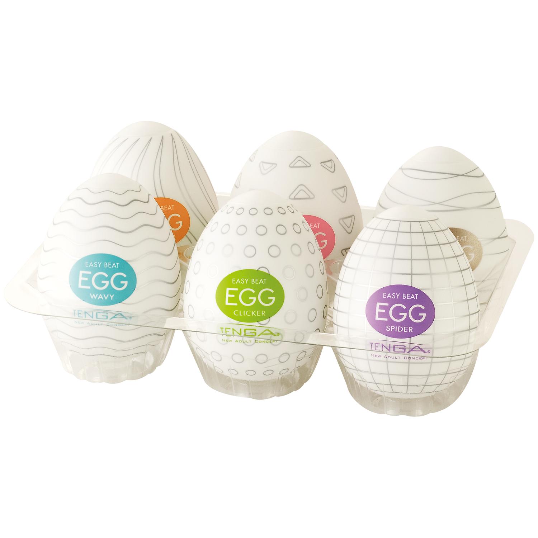 TENGA Eggs 6 pack Onani Håndjob til Mænd thumbnail