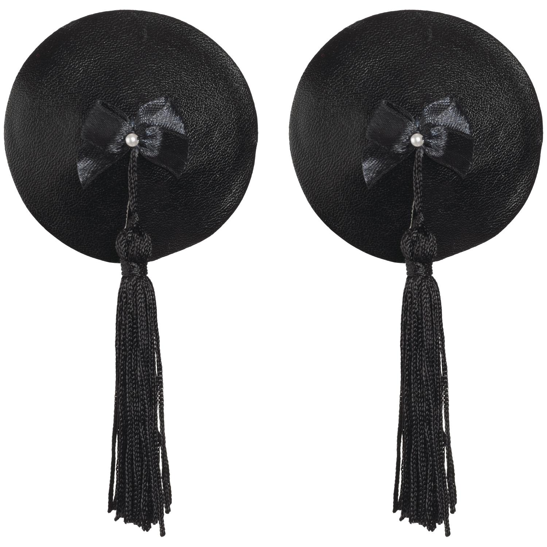 Køb Bijoux Burlesque Pasties Læder Brystsmykker