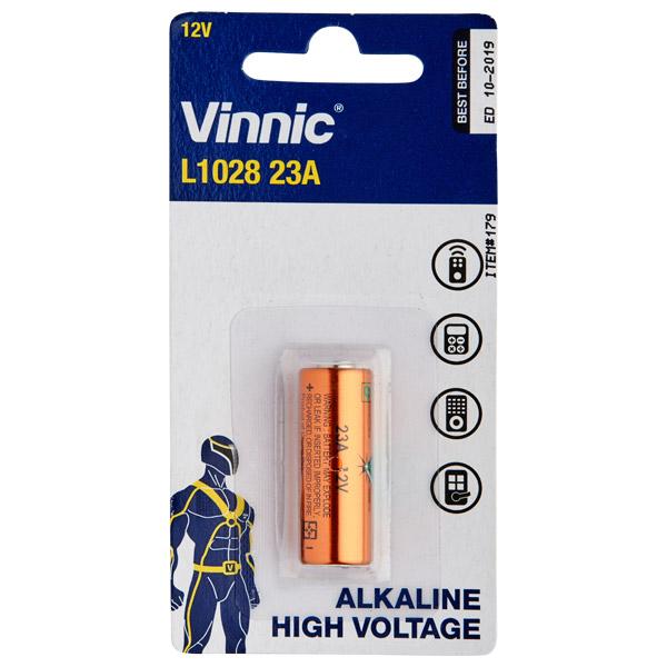Image of A23 12V Alkaline Batteri 1 stk