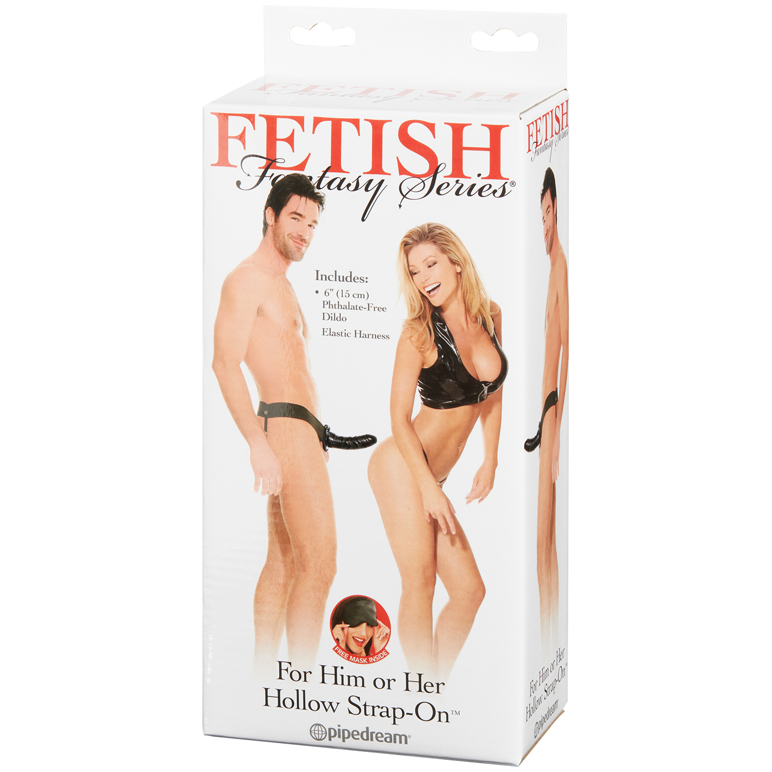 Fetish Fantasy Hollow Strap-on til Ham eller Hende
