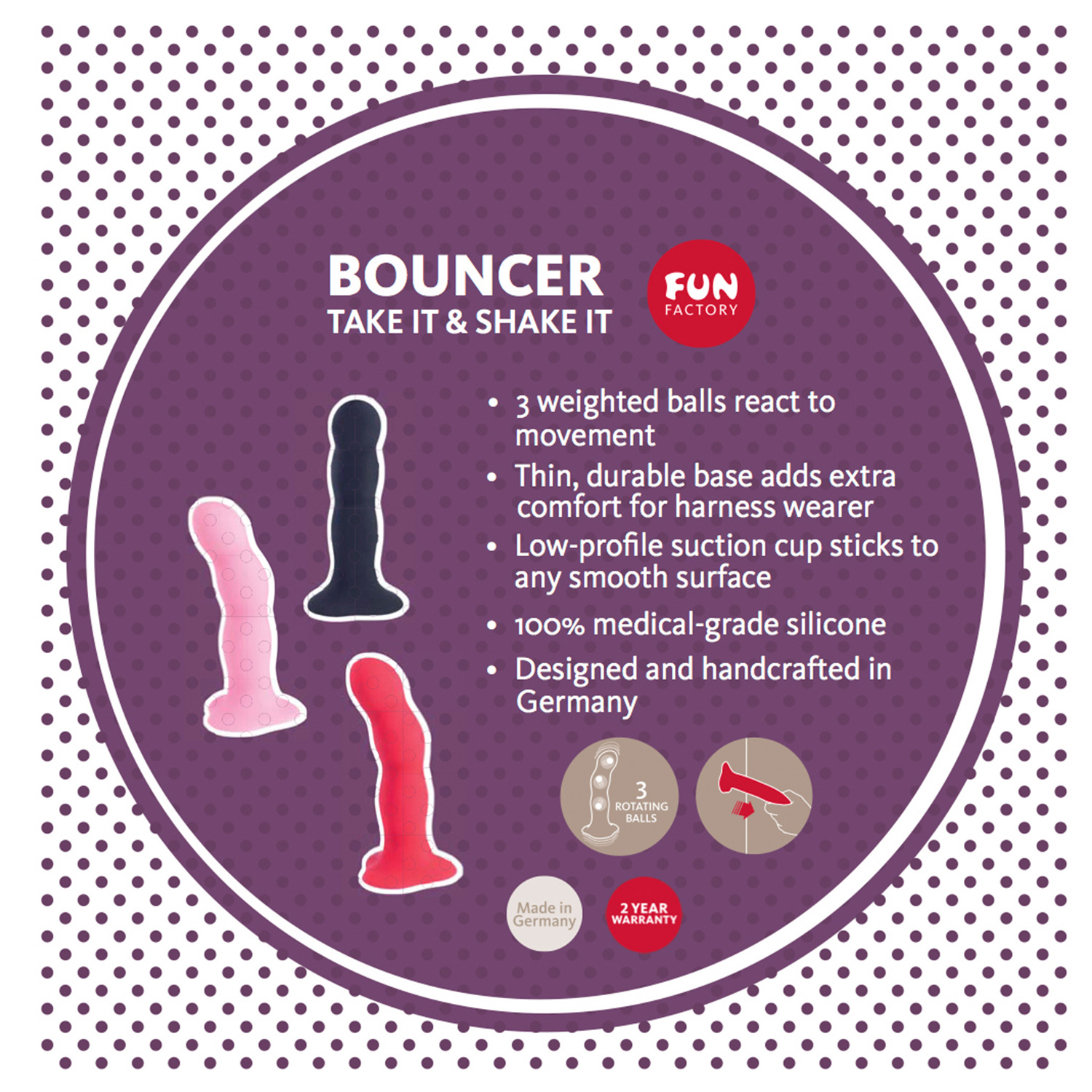 Fun Factory Bouncer Shakedildo