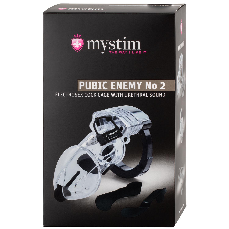 Mystim Pubic Enemy No. 2 Elektro Kyskhedsbælte