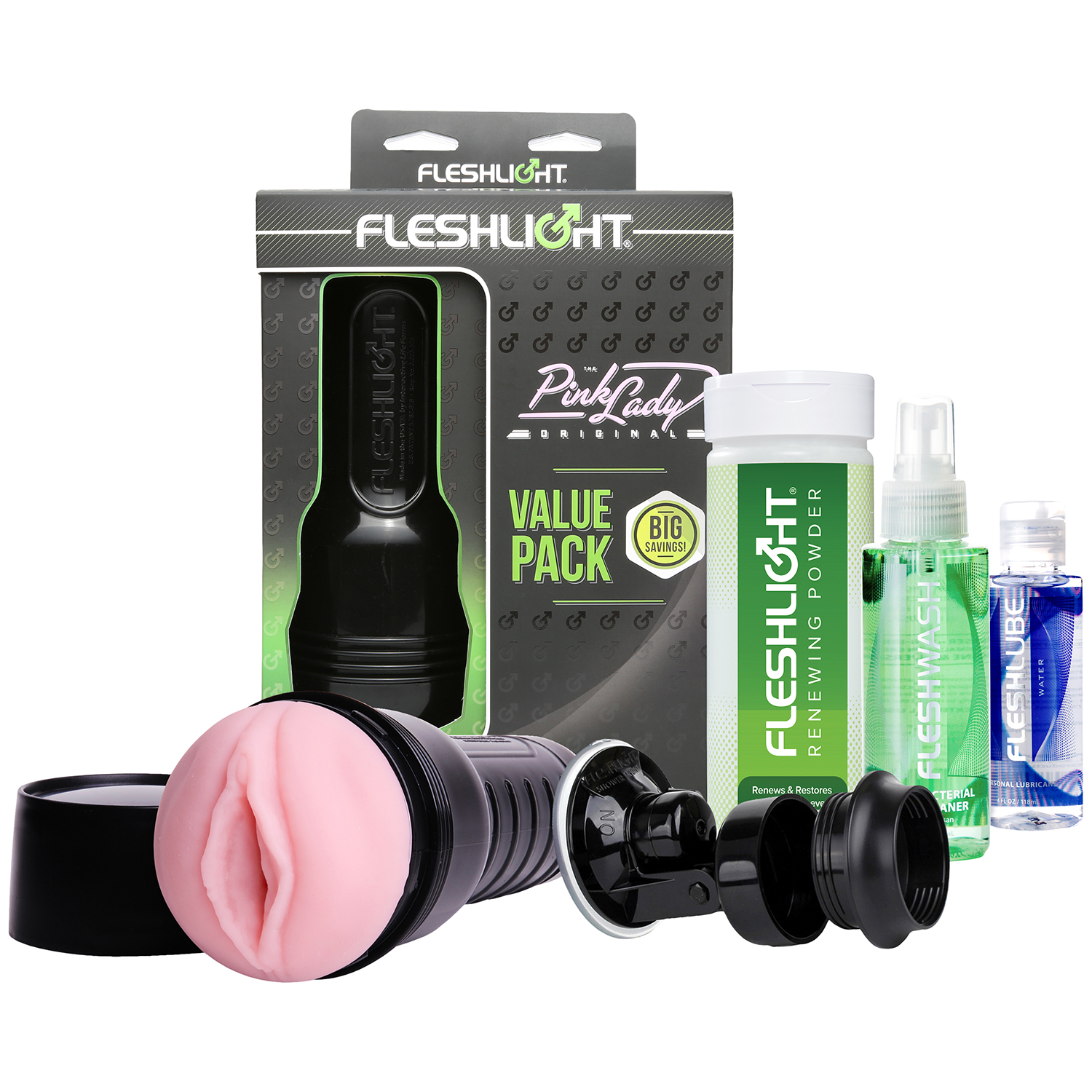 Fleshlight Pink Lady Value Pack thumbnail