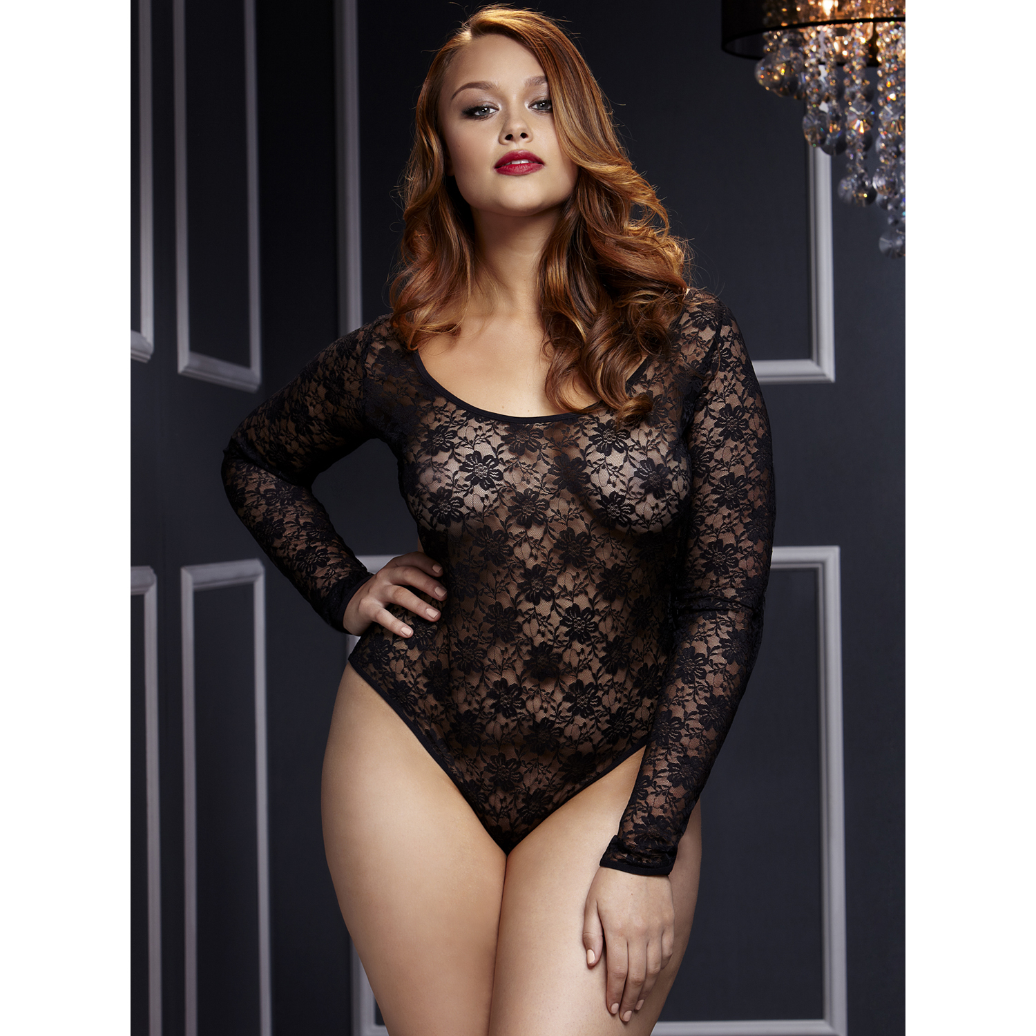 Baci Blonde Bodystocking-Queen Size thumbnail