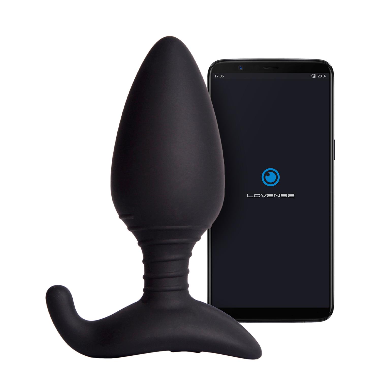 Lovense Hush App-styret Butt Plug Large