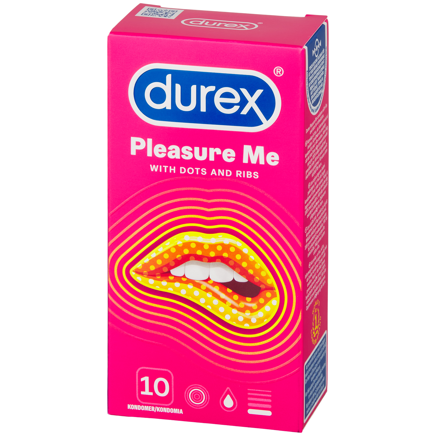 Durex Pleasure Me Kondomer 10 stk