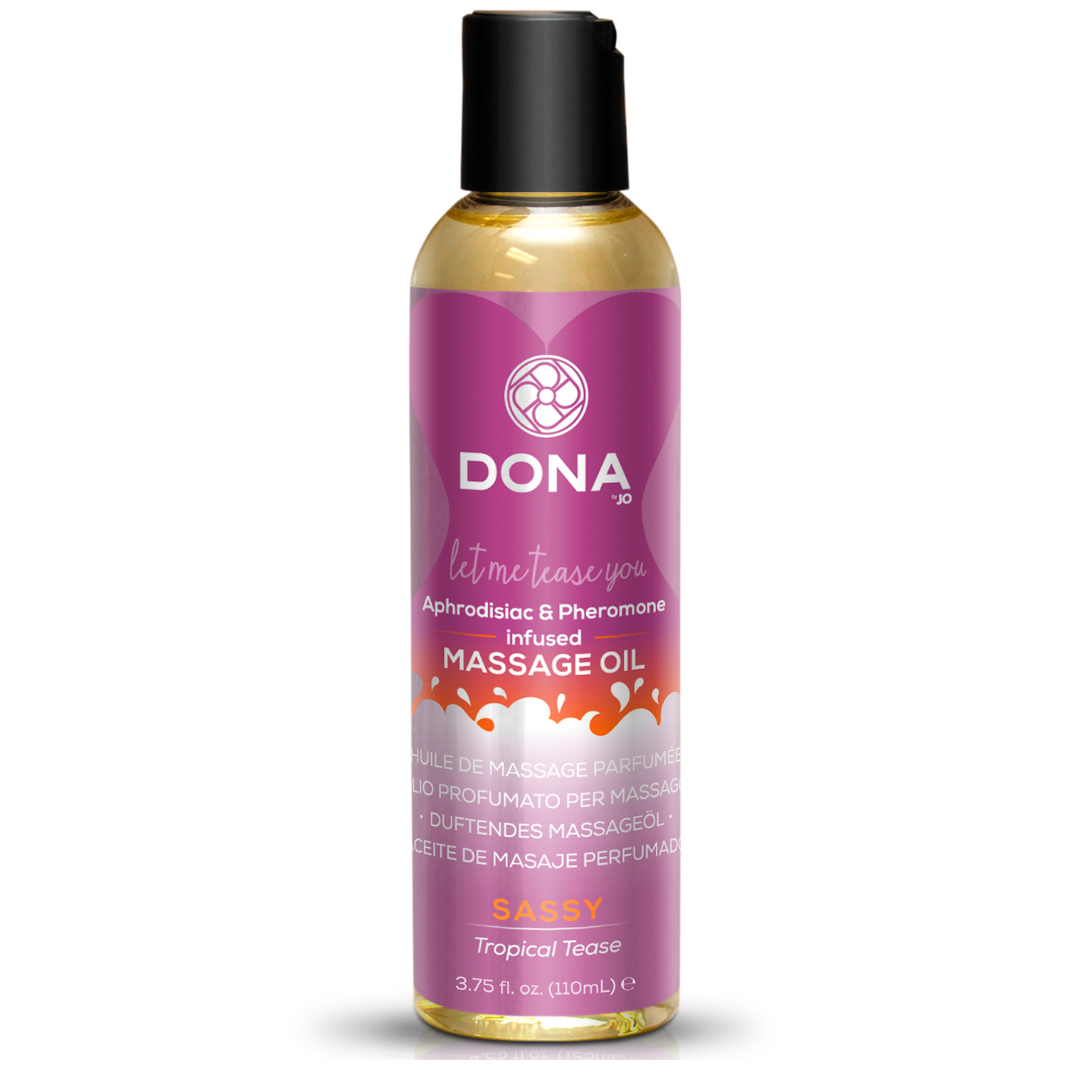 Dona Massageolie med Duft 125 ml