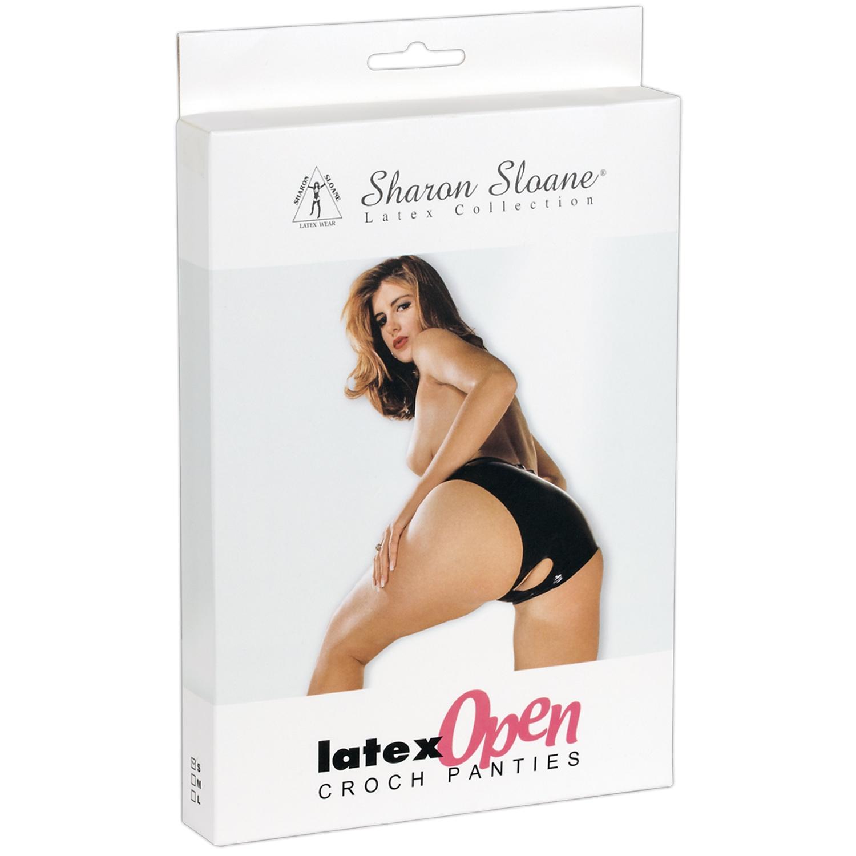 Sharon Sloane Latex Bundløs Trusse