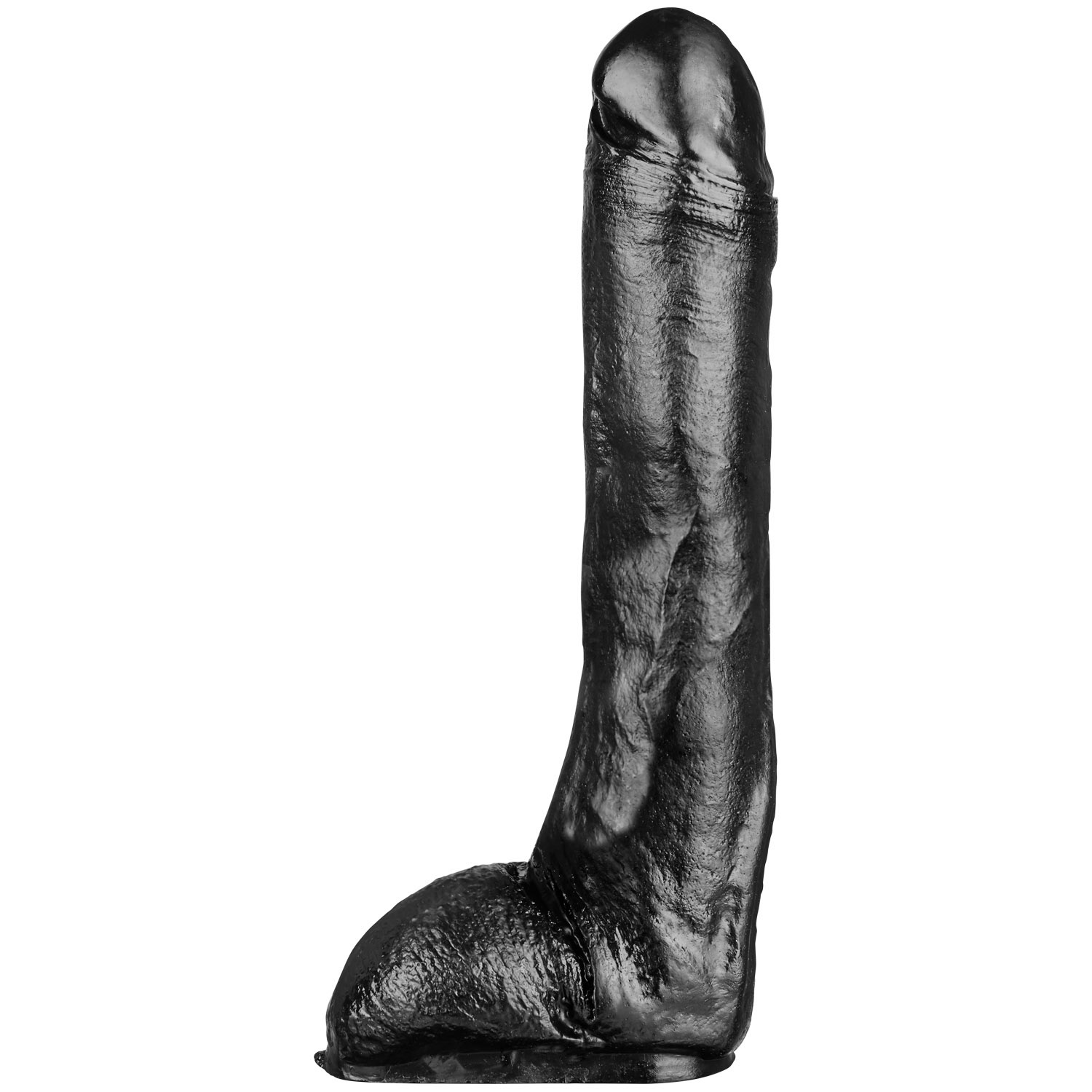 Image of   All Black Sven Dildo 29 cm