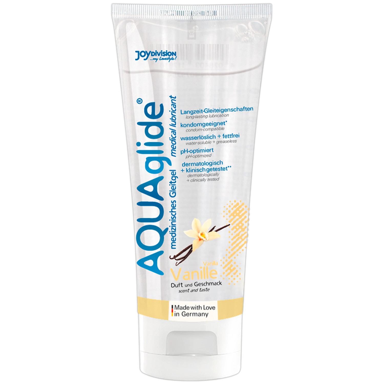 Aquaglide Glidecreme med Smag 100 ml - PRISVINDER