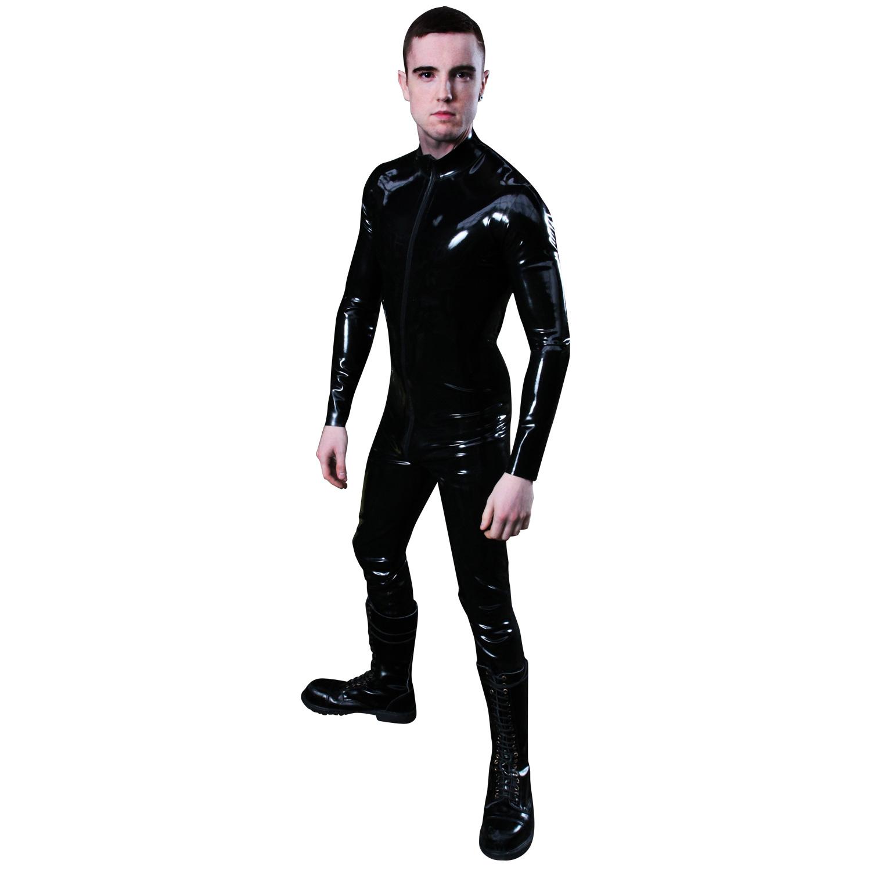 Mister B Rubber Full Body Suit med Lynlås-X-Large thumbnail