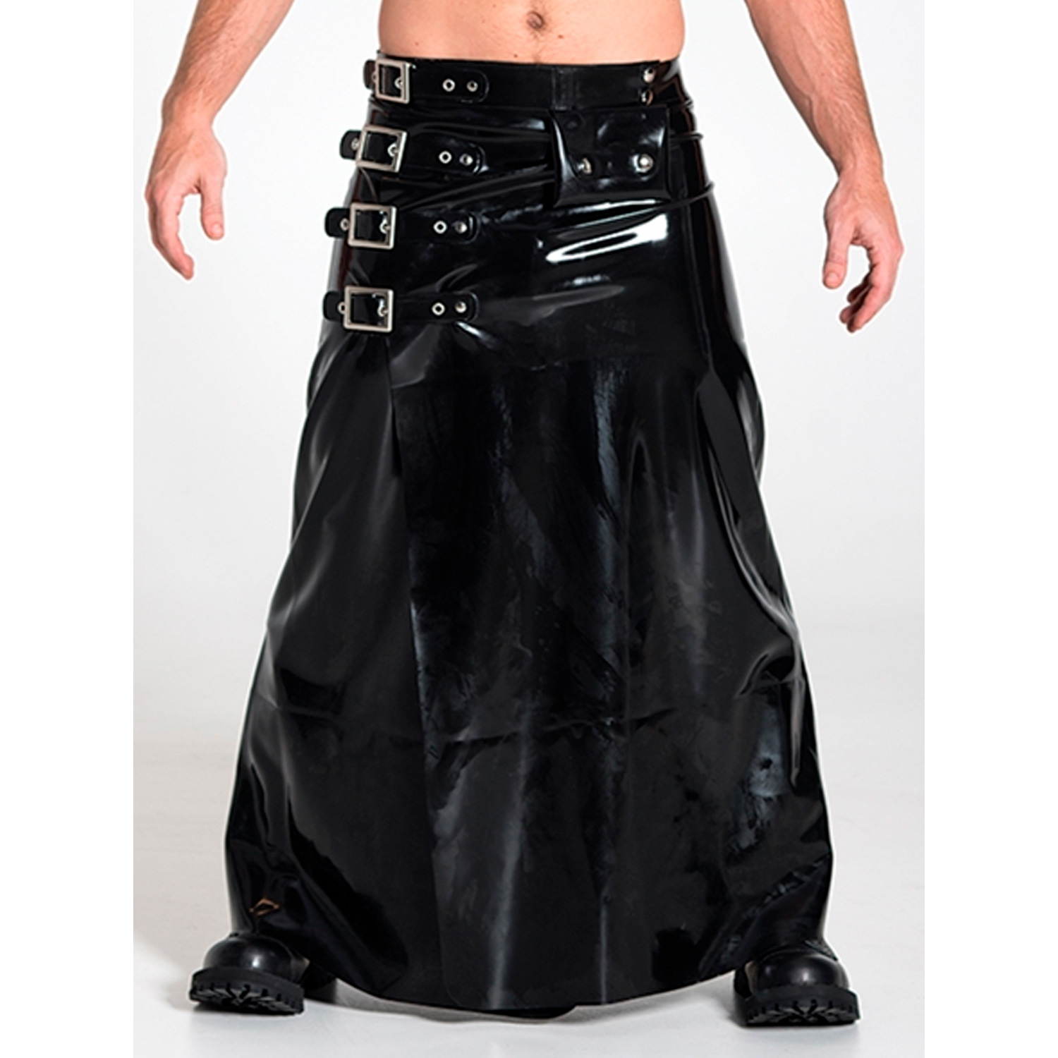 Mister B Rubber Buckle Skirt Lang-X-Large thumbnail