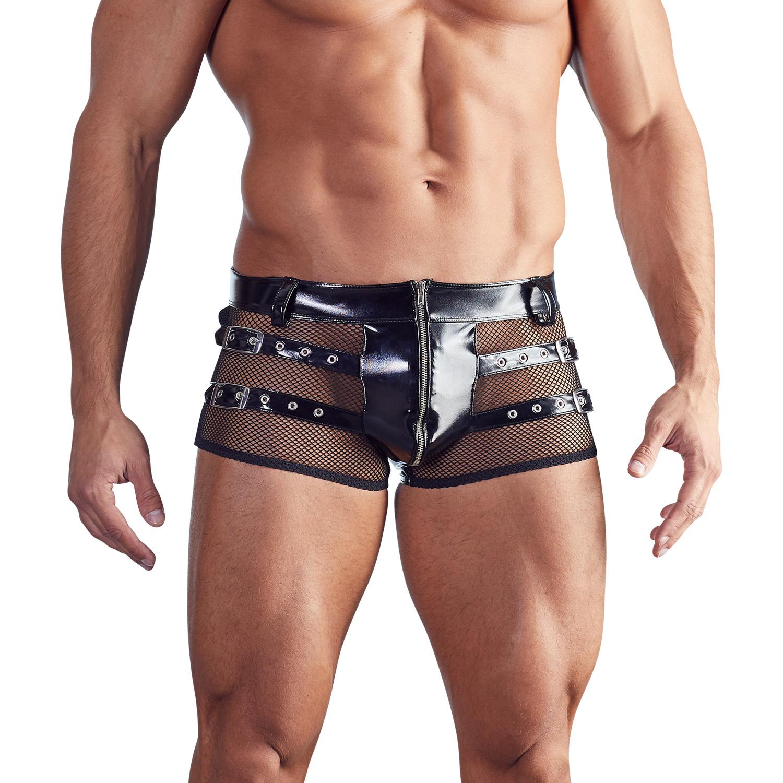 Billede af Black Level Lak Boxershorts med Net Mænd-Large
