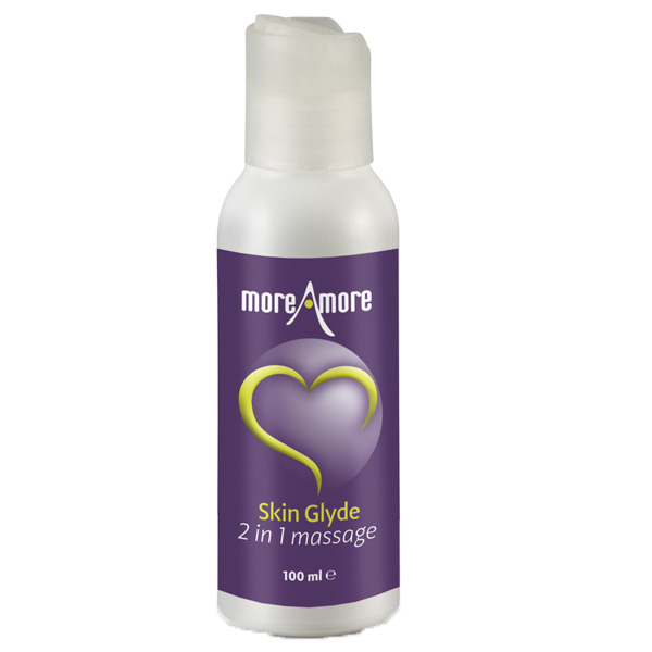 Moreamore Skin Glyde 2-i-1 Massage og Glidecreme 100 ml
