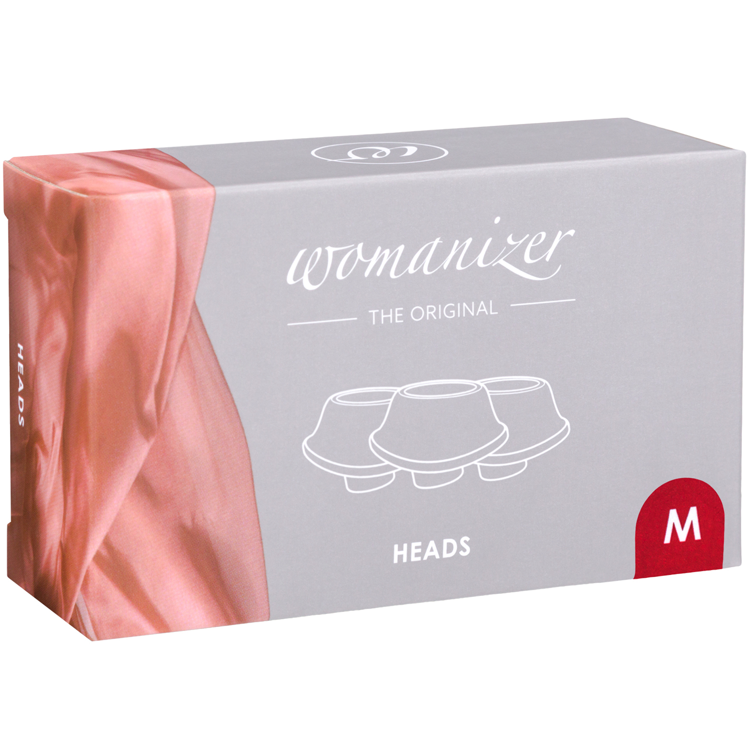 Womanizer Premium og Classic Sugehoveder 3 Pak Medium
