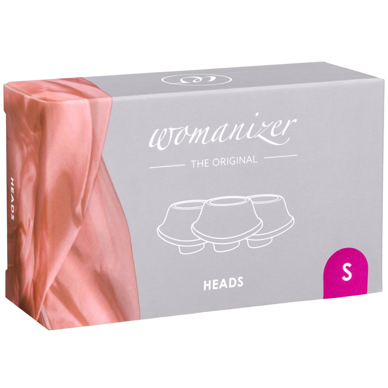 Womanizer Premium og Classic Sugehoveder 3 Pak Small