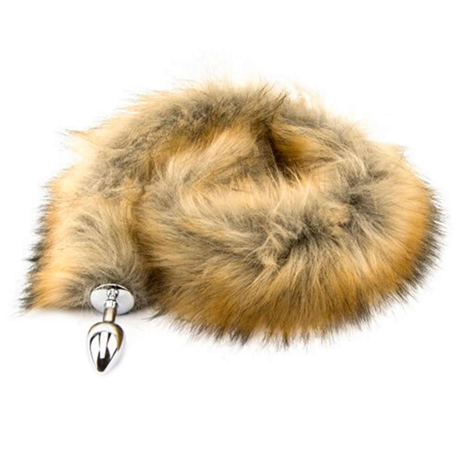 Furry Fantasy Red Fox Tail Butt Plug