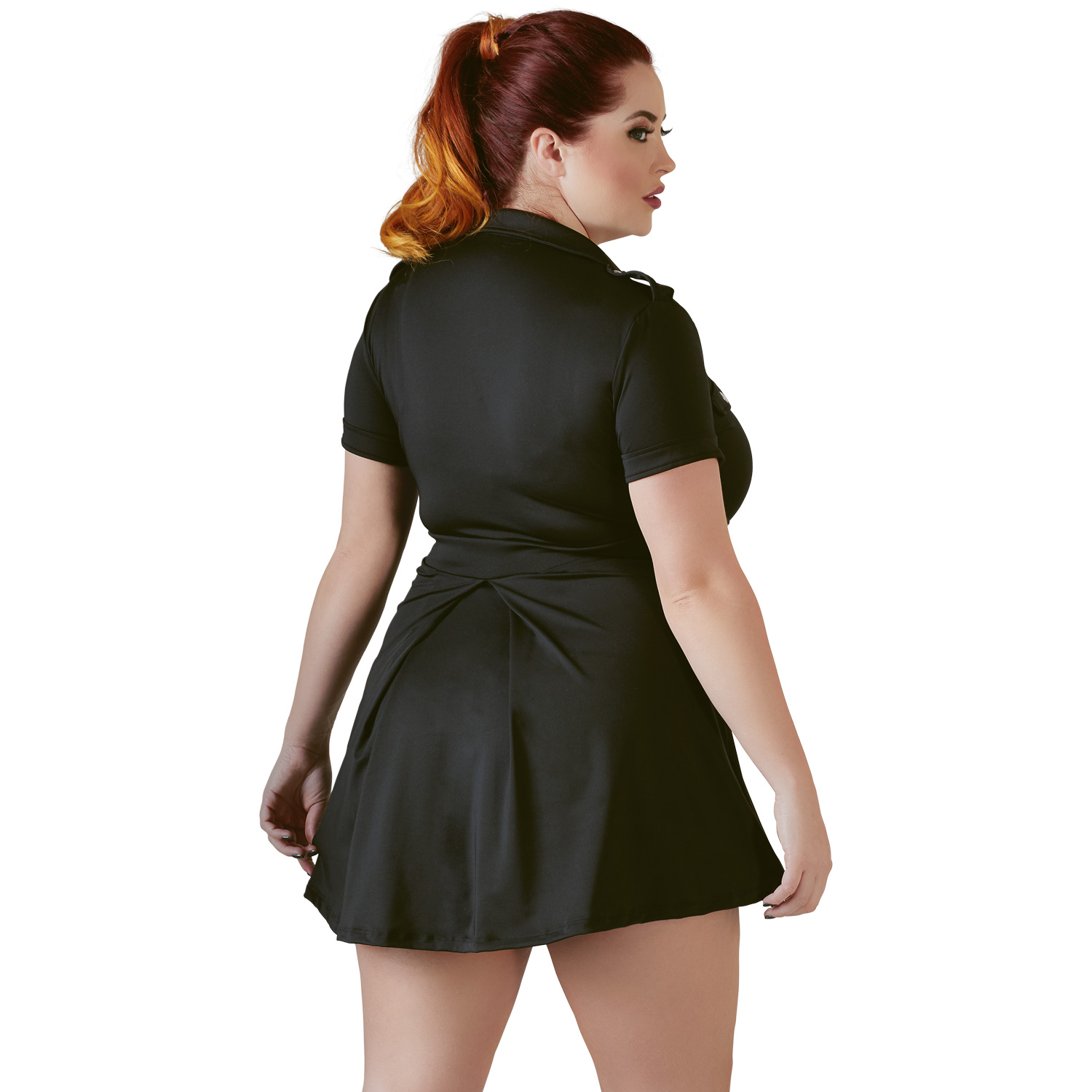Cottelli Politi Officer Kjole Plus Size