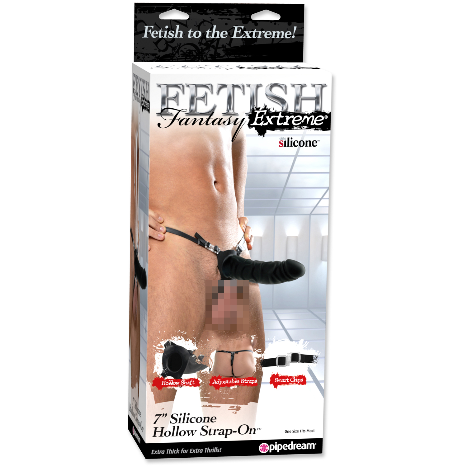 Fetish Fantasy Extreme Hollow Strap-on 18 cm