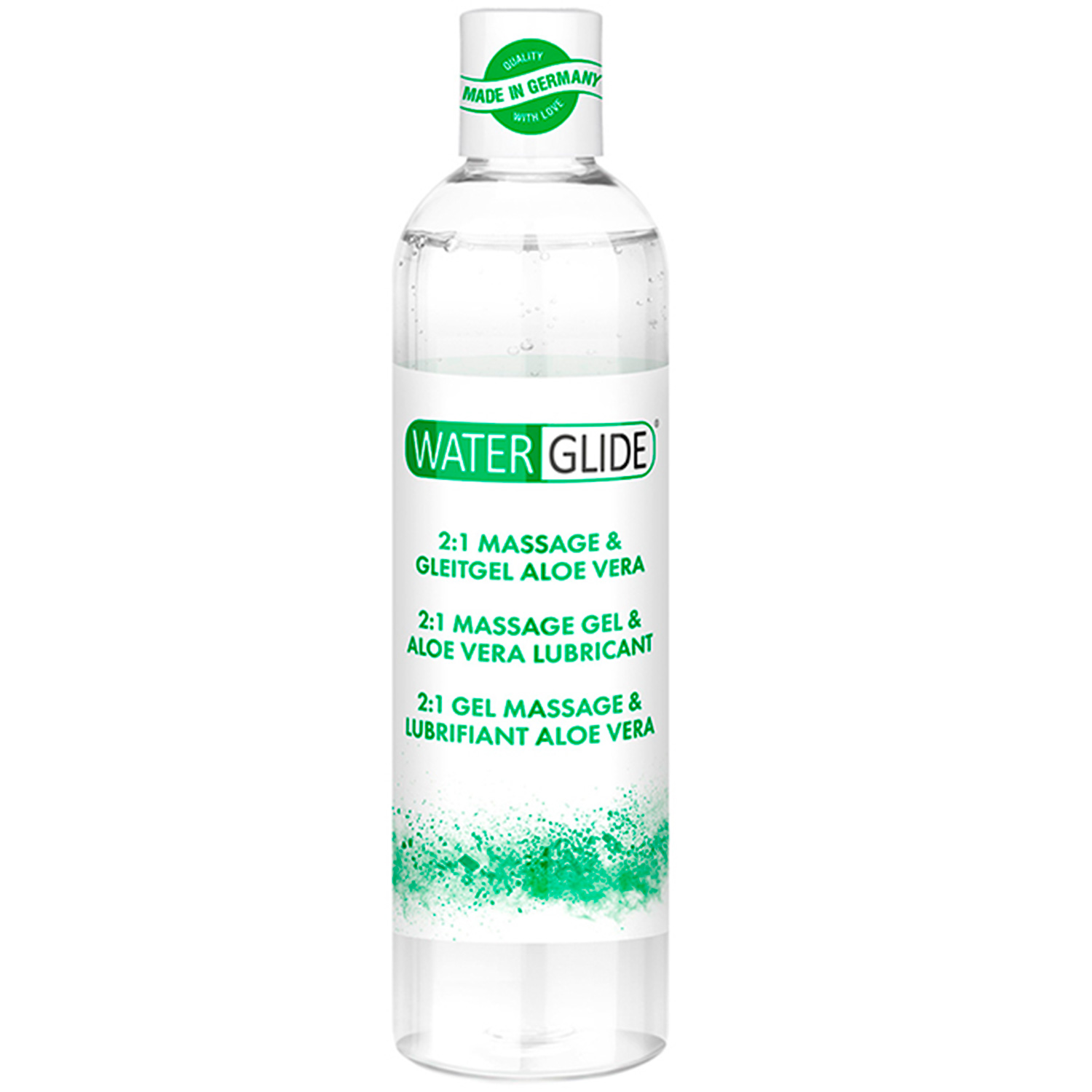 Waterglide Aloe Vera 2-i-1 Massageolie og Glidecreme 300 ml thumbnail