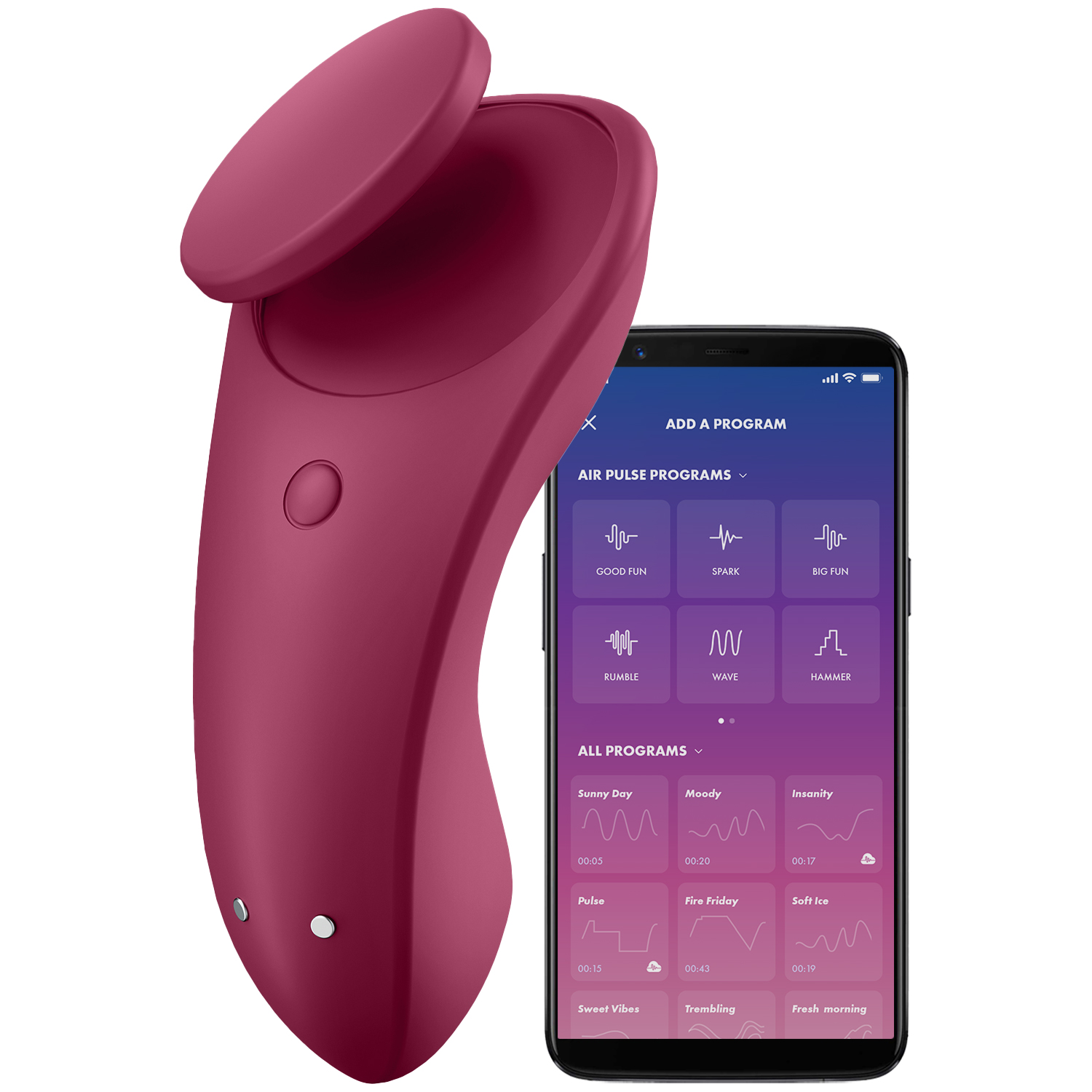Satisfyer Sexy Secret App-Styret Trusse Vibrator