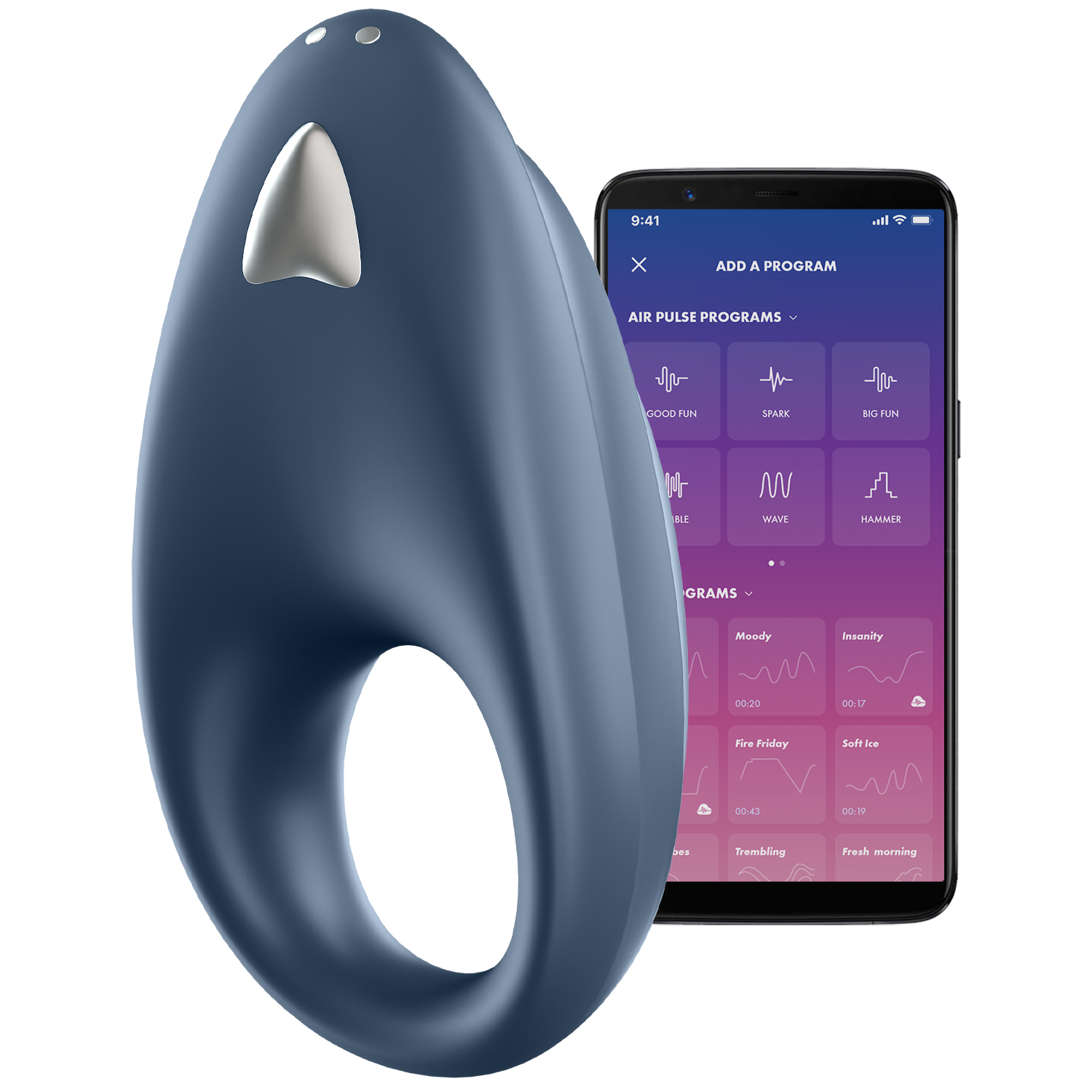 Satisfyer Powerful One App-Styret Penisring