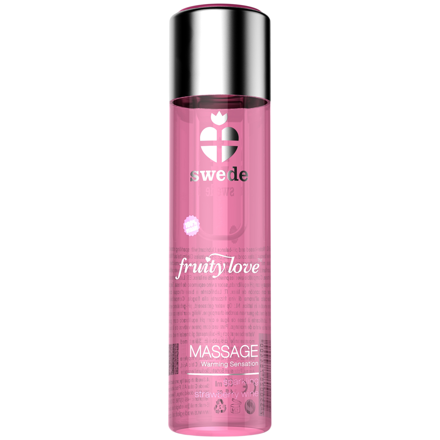 Swede Fruity Love Warming Flavoured Massage Lotion 120 ml