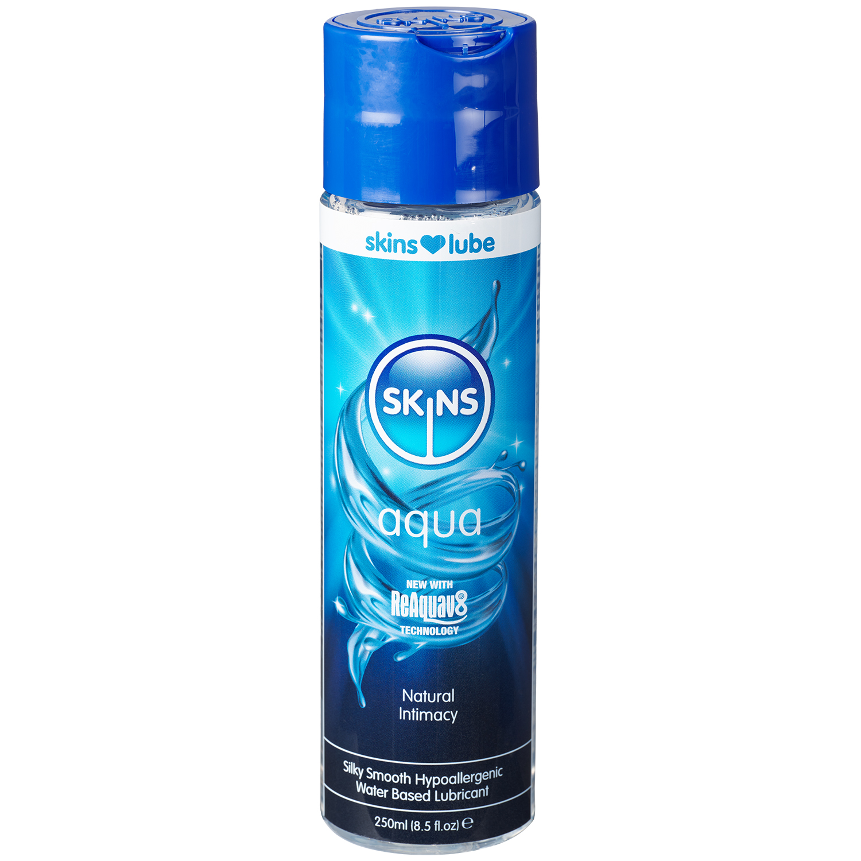 Skins Aqua Vandbaseret Glidecreme 250 ml thumbnail