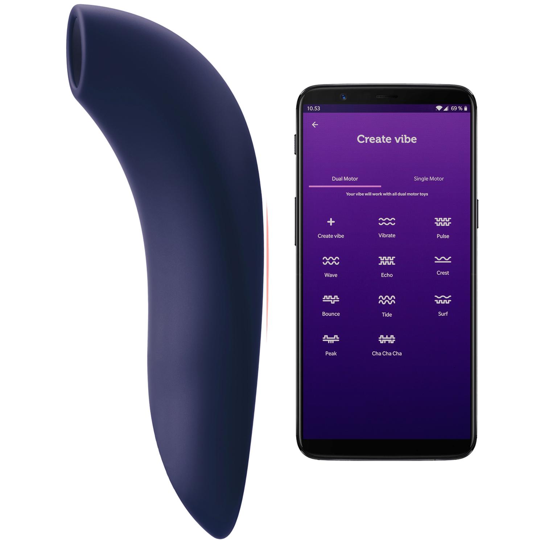 We-Vibe Melt App-styret Blå Klitoris Stimulator