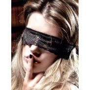 Baci Øjenmaske Blonde Sort