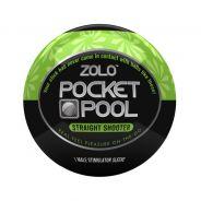 Zolo Pocket Pool Straight Shooter Onani Håndjob