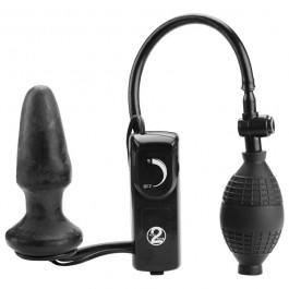 Fanny Hill Butt Plug Oppustelig Med Vibrationer