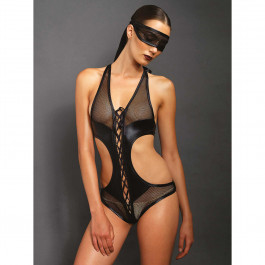 Kink by Leg Avenue Bondage Teddy med Blindfold