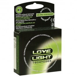 Love Light Glow Selvlysende Kondomer 3 stk