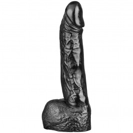 All Black Wilhelm Dildo 22 cm