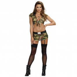 Dreamgirl Army Girl Kostume