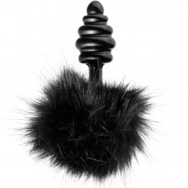 Tailz Black Bunny Tail Anal Plug