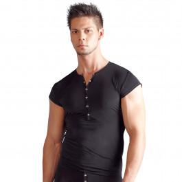 Svenjoyment T-Shirt med Knapper