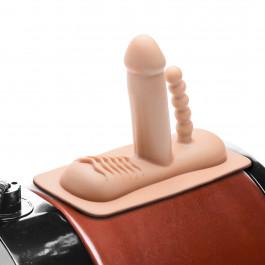 LoveBotz Dobbelt Dildo til Saddle Sex Maskine