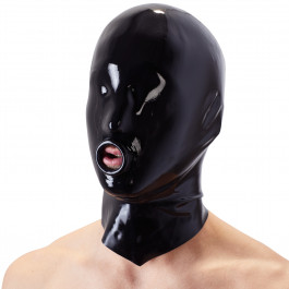 Late X Latex Maske med O-Ring thumbnail