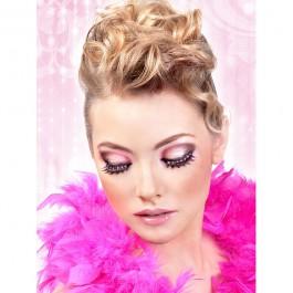 Baci Øjenvipper Glamour Sort/Pink