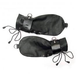 Kinklab Bondage Handsker Læder