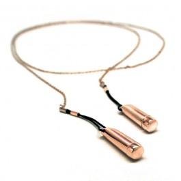 Incoqnito Kobber Brystklemme og Halssmykke med Vibrator