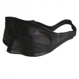 Formbar Læder Blindfold Maske