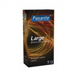 Pasante Large Kondomer 12 stk