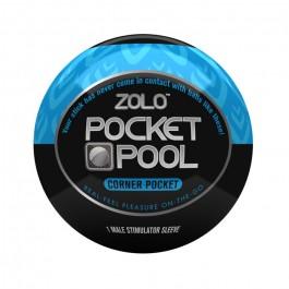 Zolo Pocket Pool Corner Pocket Onani Håndjob