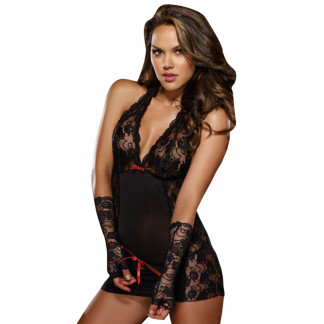 Dreamgirl Restrained Passion Blonde Chemise
